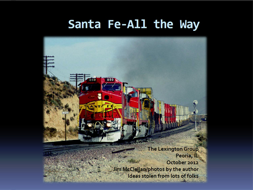Santa Fe-All the Way