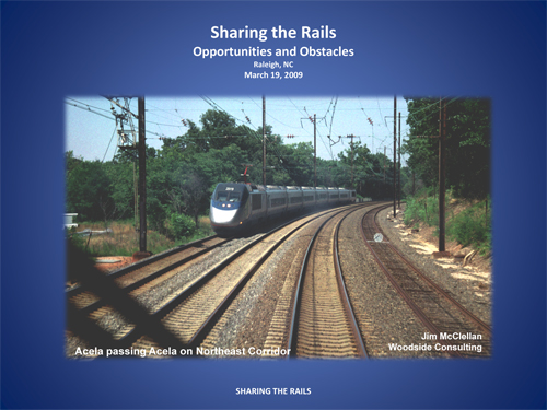Sharing the Rails